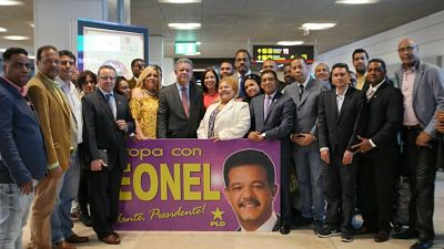 PLD en Madrid recibe a Leonel Fernández