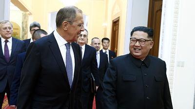 Kim Jong-un elogia la política de Putin hacia EE.UU. y Lavrov lo invita a Rusia