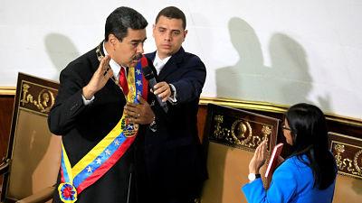 Nicolas Maduro jura como presidente ante la Asamblea Nacional Constituyente