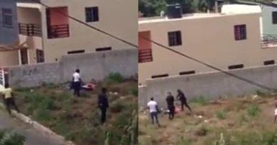 Someterán agentes captados agrediendo preso se fugó de cárcel San Pedro de Macorís