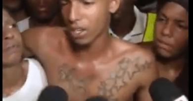 """""""Yo no quería hacerlo"""", dice joven acusado del asesinato de empleado de cabildo"""