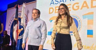 José Ignacio Paliza y Carolina Mejía asumen presidencia y secretaría general del PRM