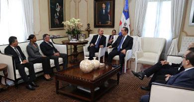 Presidente Danilo Medina recibe a los ministros de Turismo de la Región SICA