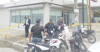 Los asaltos a los bancos se ponen de moda en República Dominicana
