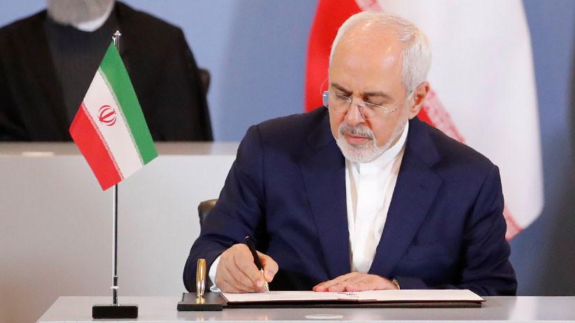 """El canciller iraní a Trump: """"Hemos existido por milenios, ¡sea cauteloso!"""""""