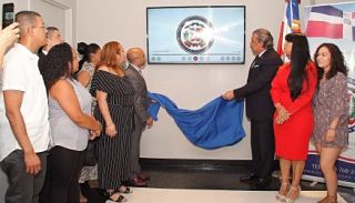 Consulado RD inaugura Mural Foklórico Digital