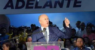 Domínguez Brito inaugura oficina política en Santiago