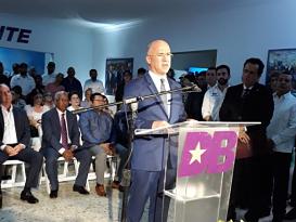 Dominguez Brito propone reforma integral en la Policía para combatir delincuencia y crear empleos dignos para la población