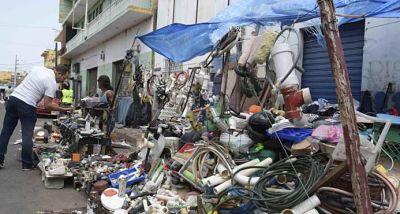 """El """"Pequeño Haití"""": una zona de caos y desorden en la ciudad"""