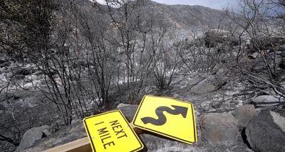 El mortal incendio en el norte de California se mantiene sin control