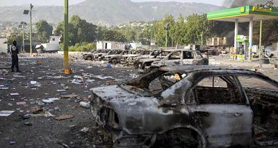 Nuevos disturbios en Haití durante huelga contra el gobierno