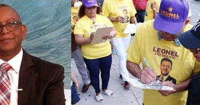 Proyecto Leonel 2020 en Nueva York busca 50 mil firmas en apoyo a candidatura presidencial