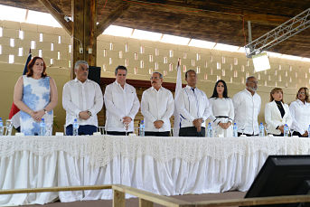 Turismo ecológico crece en Bonao. Danilo Medina asiste acto inaugural Rancho Guacamayos