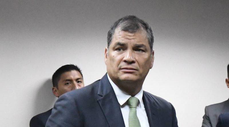 El ex presidente Rafael Correa , que vive hace un año en Bélgica, acusó a Lenín Moreno de orquestar un complot para encarcelarlo