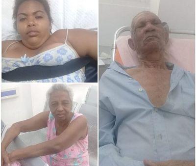 Tres pacientes esperan familiares en el hospital Francisco Moscoso Puello