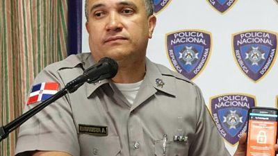 En Boca Chica jefe PN declara guerra a la delincuencia
