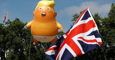 """Trump admite que """"no se siente bienvenido"""" en Londres"""