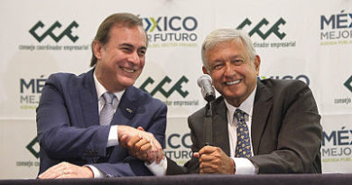 López Obrador acuerda trabajar con empresarios mexicanos tras desencuentros