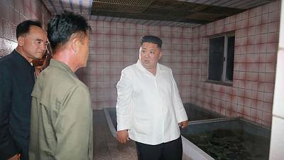 """""""Trabajan con formalismo"""": Kim Jong-un, """"enojado"""" al visitar varias instalaciones de su país"""