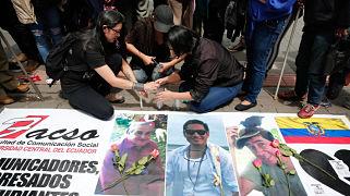 Capturan a disidente de las FARC que custodió a periodistas ecuatorianos asesinados