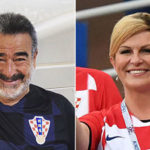El desconocido vínculo entre Luksic y Grabar-Kitarovic, la Presidenta croata que fue protagonista en la final del Mundial