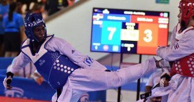 Bernardo Pie, el hermano de Luis Pie, gana medalla de oro en Taekwondo, en Barranquilla