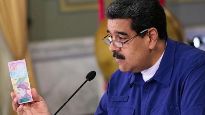 Maduro anuncia reforma monetaria en Venezuela que elimina cinco ceros al bolívar