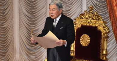 El emperador japonés Akihito sufre anemia cerebral y debe descansar