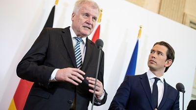 Austria y Alemania esperan pactar con Italia el cierre de la ruta del Mediterráneo