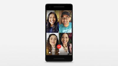 WhatsApp habilita las videollamadas de grupo con hasta cuatro personas