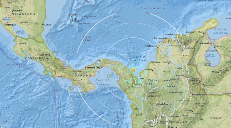 Un sismo de 5,6 se registra en el mar Caribe frente a las costas de Colombia