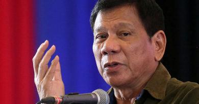"""""""Cortar a los chinos"""": Duterte advierte a China que sus acciones provocarán una guerra"""