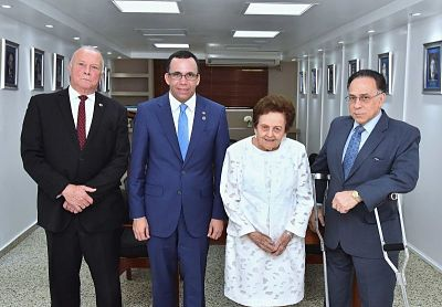 Andrés Navarro coordina alianza con Asociación Dominicana de Rehabilitación para fortalecer Educación Inclusiva