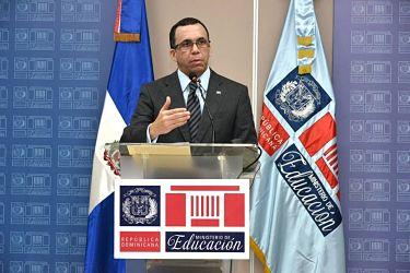 Andrés Navarro informa que este año escolar iniciará con casi el 70% del estudiantado en Jornada Extendida