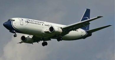 Avión aterriza de emergencia tras explotársele bolsa de cocaína a una mula