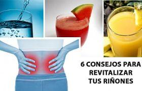 Consejos para revitalizar tus riñones