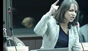 """Faride: """"Hablar de reelección en este momento es una falta de respeto"""""""