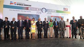 Más de 2 millones 800 mil estudiantes van a clases. Danilo Medina encabeza inicio año escolar 2018-2019 en Hato Mayor