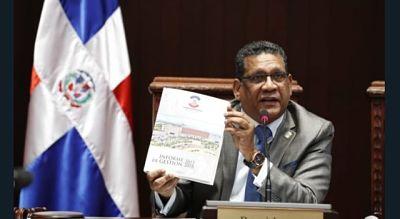 Maldonado se despide como presidente de la Cámara de Diputados; destaca sus logros