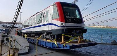 Llegará al país segunda partida de trenes para la Línea 2B del metro de Santo Domingo