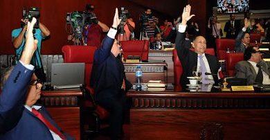 Ley de partidos ahora en manos de Poder Ejecutivo