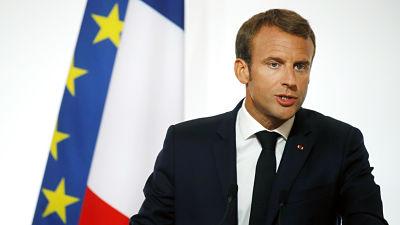 Macron: La seguridad de Europa no debería depender de EE.UU.