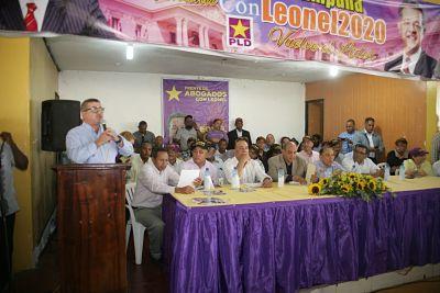 Dejan conformado Comité de Campaña Leonel2020 en La Romana.
