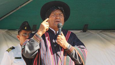 """Evo Morales propone una """"ley contra la mentira"""" de autoridades y medios de comunicación"""