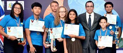 Dominicanos campeones olímpicos Matemáticas