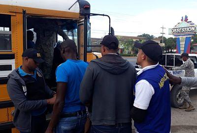 Migración detiene a más de 200 extranjeros durante operativos en Puerto Plata y SDE