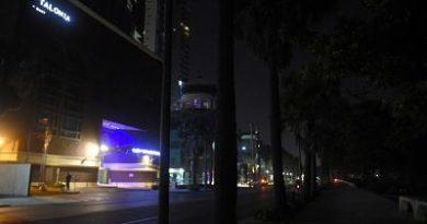 El robo del cableado eléctrico en el Malecón sume en oscuridad la zona