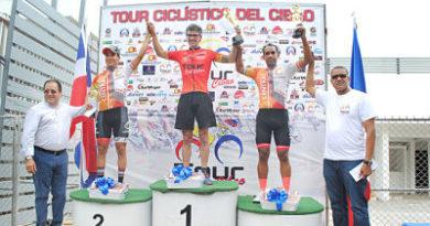 Venezuela brilló en el Tour Ciclístico del Cibao
