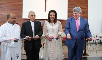 Feligresía de Santiago recibe nueva iglesia con salones para actos y otras facilidades de parte del Despacho Primera Dama y FONPER