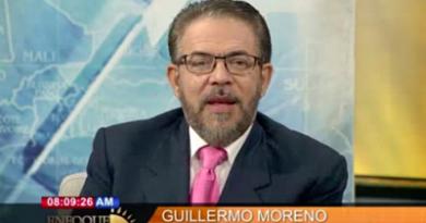 Guillermo Moreno: La sociedad no resiste un nuevo gobierno del PLD